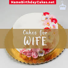 Birthday Cakes For Wife With Name