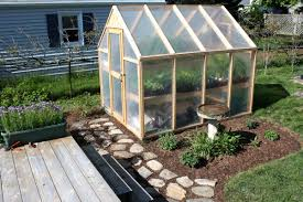 how to build a garden greenhouse the inspirations intended