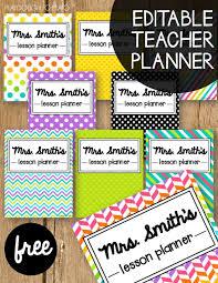 Teacher Weekly Planners Free Teacher Planner Playdough To Plato
