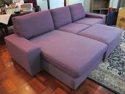 ikea kivik 3 seater sofa chaise lounge 12000