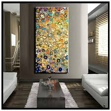 large vertical wall art large single abstract flower cheap huge vertical oil painting on canvas modern large vertical wall art  on cheap extra large wall art with large vertical wall art like this item extra large vertical wall art