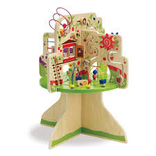 manhattan toy tree top adventure wooden activity center review