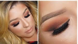 fall makeup orange i brown smokey eye you