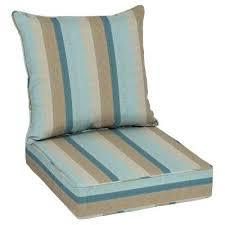 sunbrella chair cushions x gateway mist deep seating outdoor lounge cushion clearance n