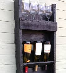 Reclaimed Wood Wine Cabinet 4 Tier Salvaged Wood Wine Rack Inactive Boozy Del Hutson