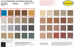 Ge Silicone Color Chart Ge Construction Sealant Standard_pic Sealant Depot Inc
