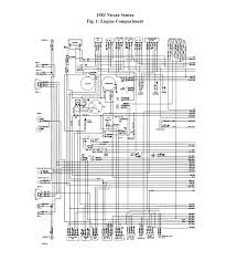 nissan 411 wiring diagram some of the electrical circuits sam graphic