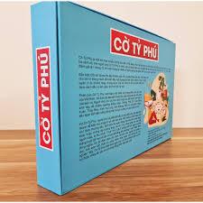 Bộ đồ chơi Cờ Tỷ Phú Monopoly cao cấp - Trò chơi trí tuệ cho trẻ em, địa  danh Việt, tiền Việt, có hướng dẫn đi kèm