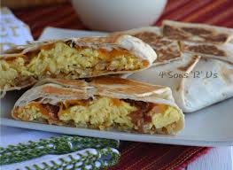 taco bell breakfast crunchwrap. Beautiful Bell Copy Cat Taco Bell AM Crunchwrap Supreme 2 For Breakfast F