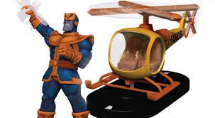 The Thanos-Copter Is Coming to HeroClix