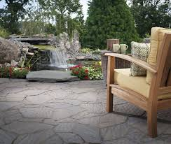 flagstone patio mind dirt