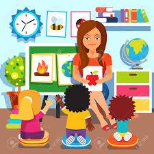Image result for Teacher reading to children clipart
