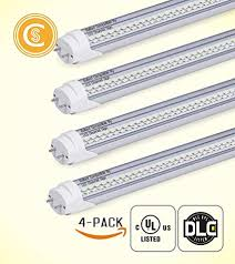 Eco friendly lighting fixtures Light Pack Of Ft Led Tube Lights 18w 60w Equivalent 2100lm 5000k Amazoncom Pack Of Ft Led Tube Lights 18w 60w Equivalent 2100lm 5000k