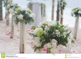 Wedding Flowers Decoration Decoration Wedding Flower Arch Stock Photo Image 61796222