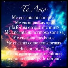 Te Amo Quotes Te Amo cosita Pinterest Spanish Spanish quotes and Amor 68