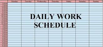 Excel Daily Planner Template Daily To Do List Template Discopolis Club