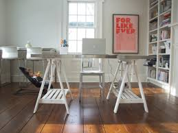 eclectic design home office. Office Desk Decorating Ideas With Expedit For Home Eclectic Design