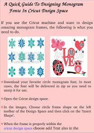 Monogram Font On Cricut Design Space A Quick Guide To Designing Monogram Fonts In Cricut Design