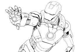 Avengers Infinity War Iron Man Coloring Pages Drawing At Free For