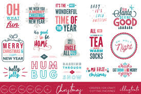 Christmas Quotes Bundle Graphic By Illuztrate Creative Fabrica Simple Quotes Of Illu