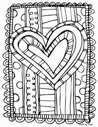 Free Scrappy Valentine S Day Coloring Page Kindergarten Ideas