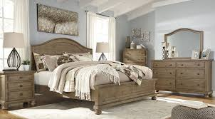 light brown furniture. Exellent Light Trishley Light Brown Panel Bedroom Set To Furniture