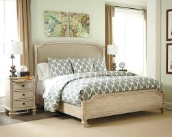 White 3 Piece Bedroom Set In By Furniture Parchment Bed King ...
