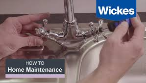 How To Fix A Kitchen Tap With Wickes Youtube