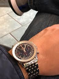 breitling navitimer which strap makes my navitimer aopa look best