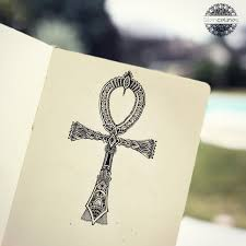 Ankh Cross Egyptian Symbol Tattoo Idea By Silence Lines