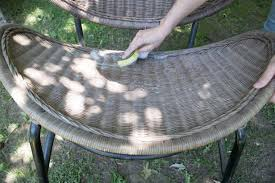 how to clean wicker furniture diy