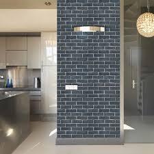 stone brick wall stickers tile imitation stone 3d effect sticker selfadhesive wallpaper bathroom home decor wall