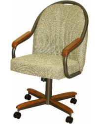 rolling dining chairs. Casual Dining Barell Swivel And Tilt Rolling Chair (Roller Chair), Brown Chairs W