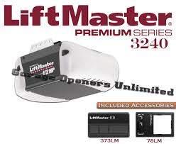 liftmaster 3240 premium series 1 2 hp