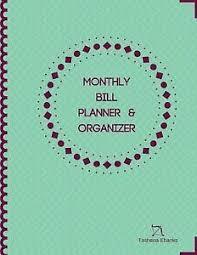 Details About Monthly Bill Planner Organizer Budget Planning Journal Financial Planning