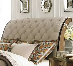 tufted upholstered sleigh bed. Perfect Upholstered Decorating Graceful Tufted Sleigh Bed 19 545 Br Qsl 3 Beige Tufted  Upholstered Sleigh Bed  And Upholstered E
