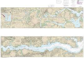 12237 Rappahannock River Corrotoman River To Fredericksburg East Coast Nautical Chart