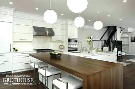 wood kitchen counter tops l shaped island design shapes with wooden countertops home depot ki