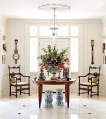 Console Decor Ideas Stunning Decorating A Foyer Table Pictures Awesome Design Ideas