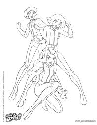coloriage totally spies 2 totally spies coloring pages coloring for kids coloriage on totally spies coloring pages