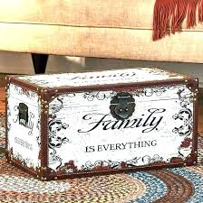decorating decorative wooden trunks storage chests and indian