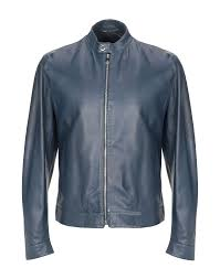 versace collection leather jackets for men versace collection coats jackets yoox