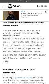 Immigrants Any Hint Than Other His Deported Which President More qgPRqt