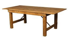 wood folding table3