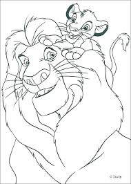 Simba And Scar Coloring Pages Lion King Coloring Pages Sheet Sheets