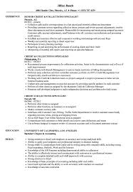 Credit Collections Specialist Resume Samples Velvet Jobs