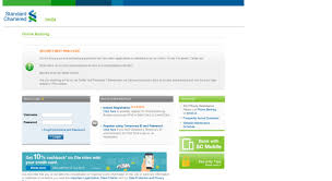 Access Ibank Standardchartered Co In Standard Chartered