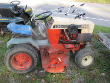 case garden tractor. Used Vintage Case Ingersol 220 Garden Tractor And 44 R