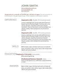 Resume Format Open Office Resume Template Easy Http Www
