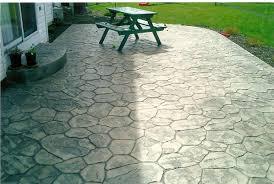 stamped concrete patio designs Concrete Patio Designs for Warm
